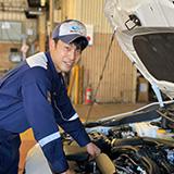メカニック 北原 伸也 Kitahara Shinya 2016年入社 1級自動車整備科卒